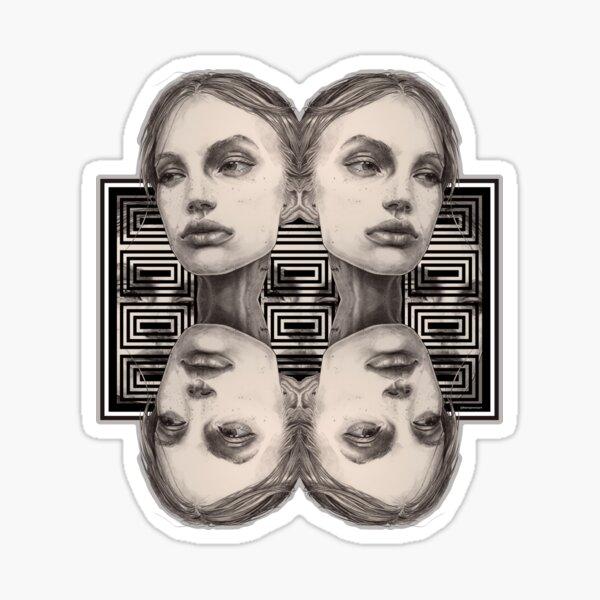 Pauline Square Sticker