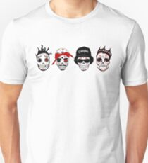 RIP MCs - Gangsta Rapper Sugar Skulls T-Shirt
