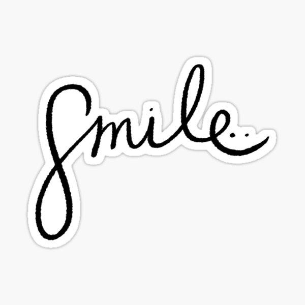 Smile   Trendy/Hipster/Tumblr Meme Sticker
