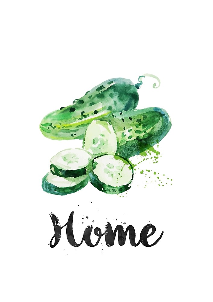 Cucumber. Home by found in  Atlantis