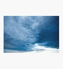 Awesome Nature Background with Sky Photographic Print