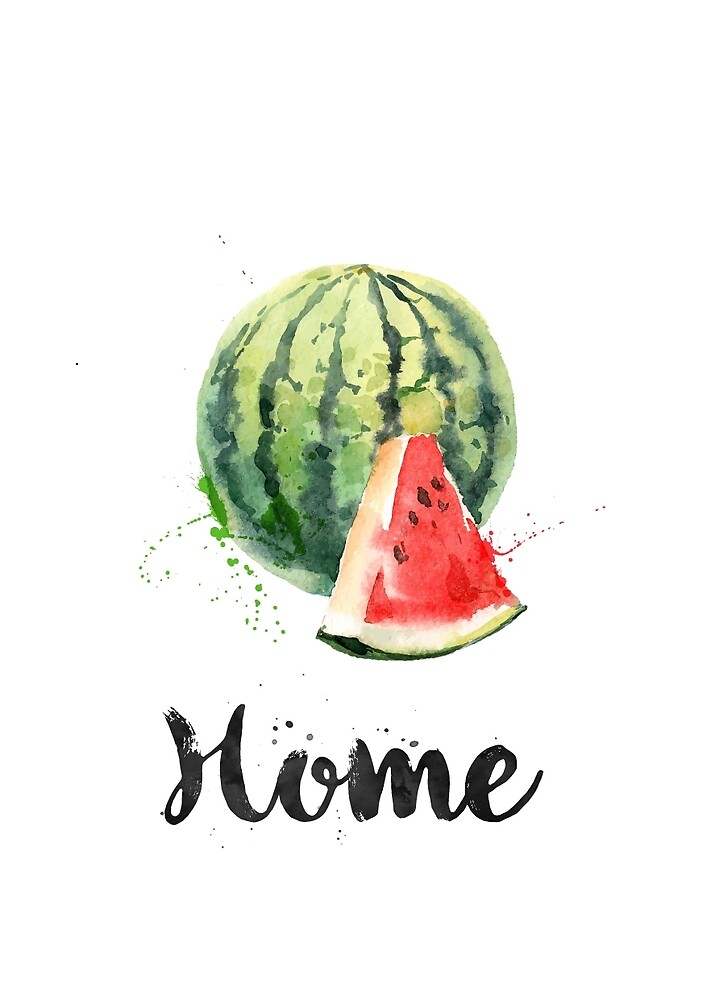Watermelon. Home by found in  Atlantis