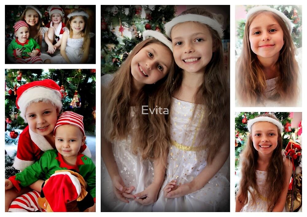 Eine Weihnachtscollage - Nr. 1 von Evita