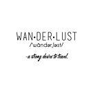wanderlust by Cyndiee Ejanda