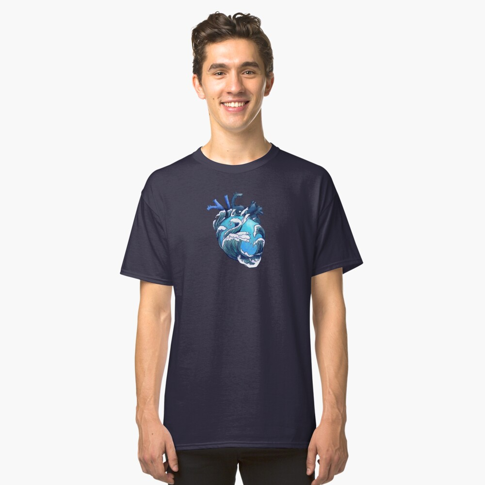 Beneath the Waves Classic T-Shirt