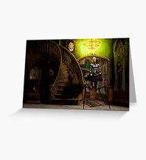 Lilith Wanders the Halls at Night Greeting Card