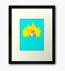 Captain and Lux Sunshine Framed Print