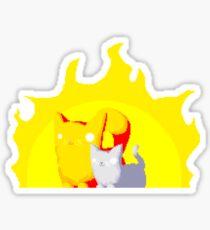 Captain and Lux Sunshine Sticker