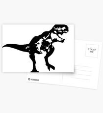 Shadow T-Rex Postcards