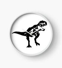 Shadow T-Rex Clock