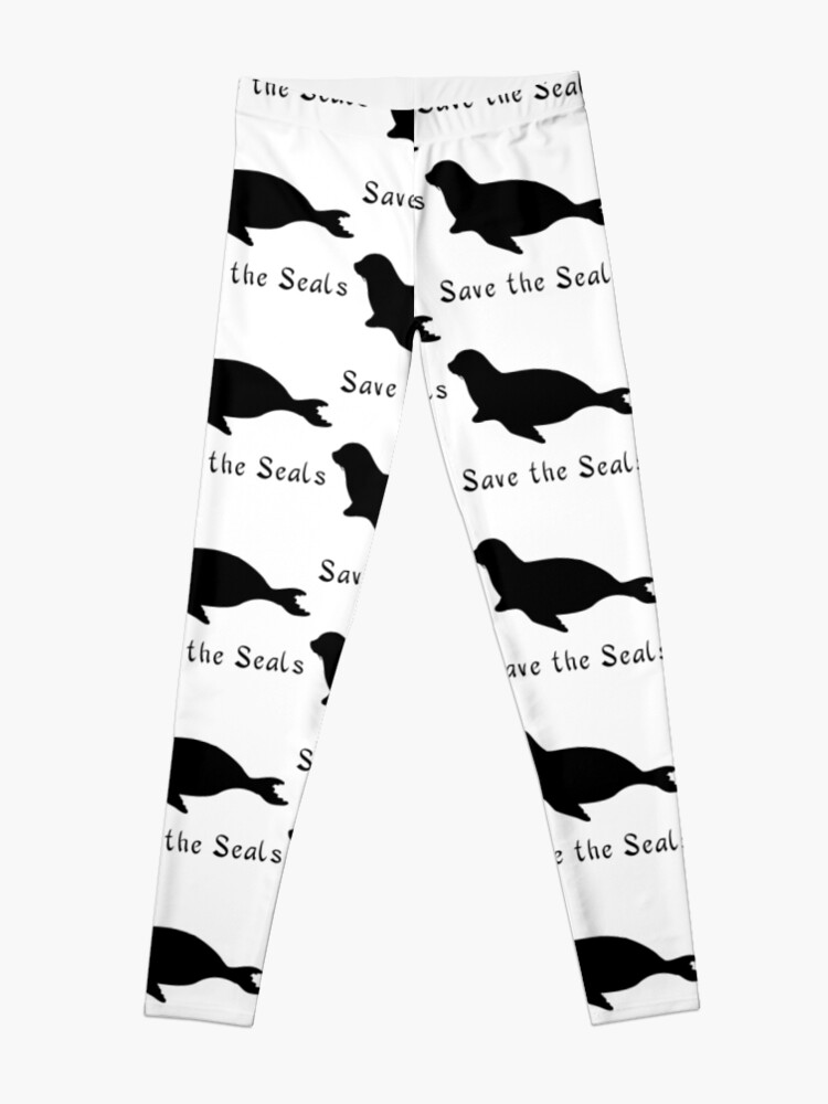 Save the Seals!   Leggings