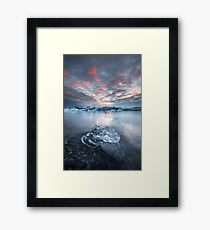 The poetry of earth is never dead Framed Print