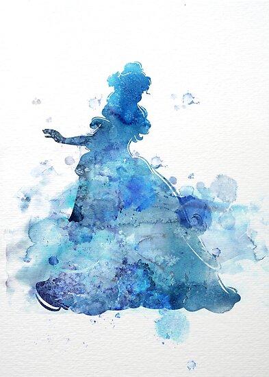 Princess in blue by DimDom