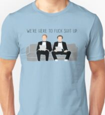 Step Brothers - We're Here To Fuck Shit Up Unisex T-Shirt