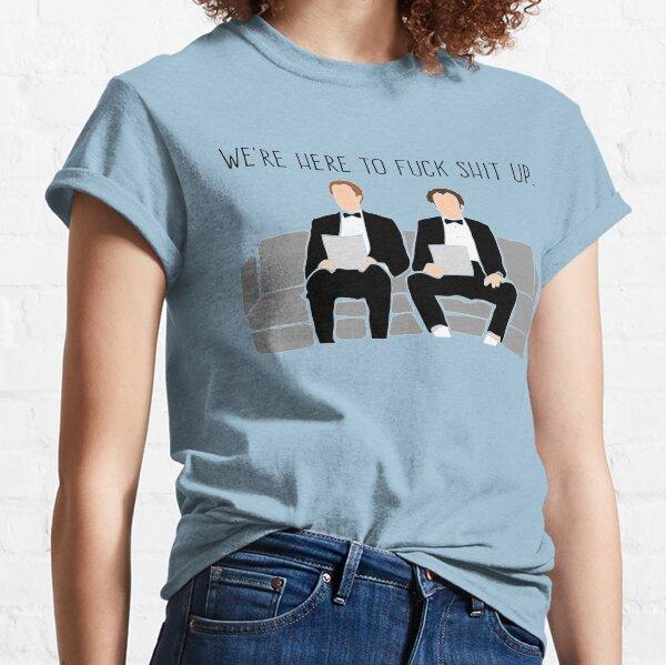 Hermanastros: estamos aquí para joder mierda Camiseta clásica