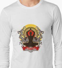 Meditation brings wisdom Long Sleeve T-Shirt