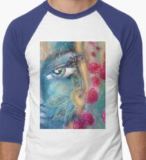 goddess of femininity Men's Baseball ¾ T-Shirt