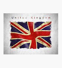 British flag Photographic Print