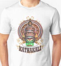 Kathakali Dancer Closeup T-Shirt