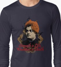 Indian Hindu Monk - Swami Vivekananda Long Sleeve T-Shirt