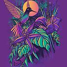 Purple Garden by qetza
