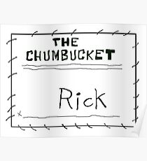 MY NAME'S NOT RICK Poster