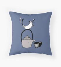 Tea4two Throw Pillow