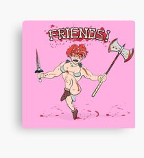 Friends! Canvas Print
