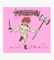 Friends! Photographic Print
