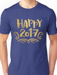 Cute Happy 2017 New Year Unisex T-Shirt