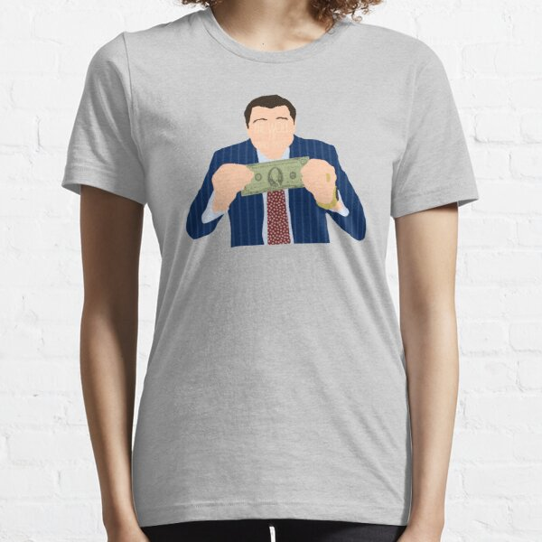 The Wolf of Wall Street - Leonardo DiCaprio Essential T-Shirt