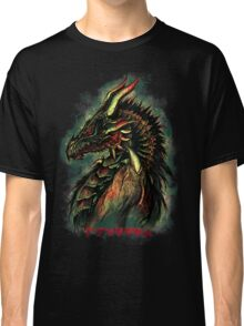 Dragonborn (Green Version) Classic T-Shirt