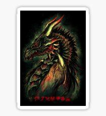 Dragonborn (Green Version) Sticker