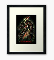 Dragonborn (Green Version) Framed Print