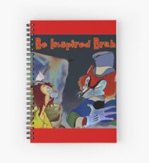 Big Bad Wolf and Wingman Spiral Notebook