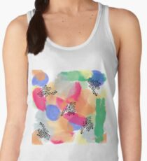 Abstract Brush Women's Tank Top