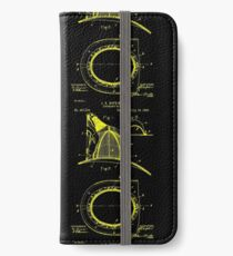 firefighter fireman patent art  iPhone Wallet/Case/Skin