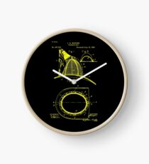 firefighter fireman patent art  Clock