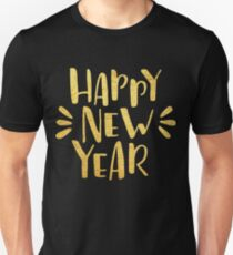 Cute Happy New Year 2018 Unisex T-Shirt