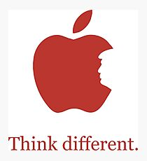 Think Different. Donald Trump Different. Photographic Print