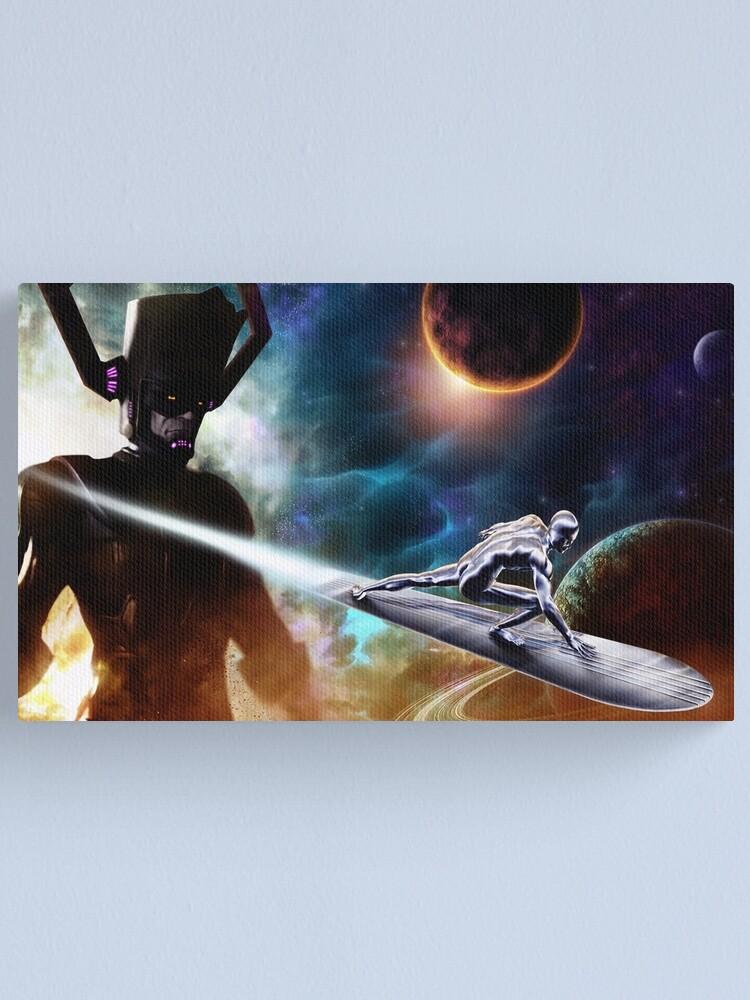 Alternate view of Sliver Surfer Canvas Print