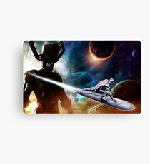 Sliver Surfer Canvas Print
