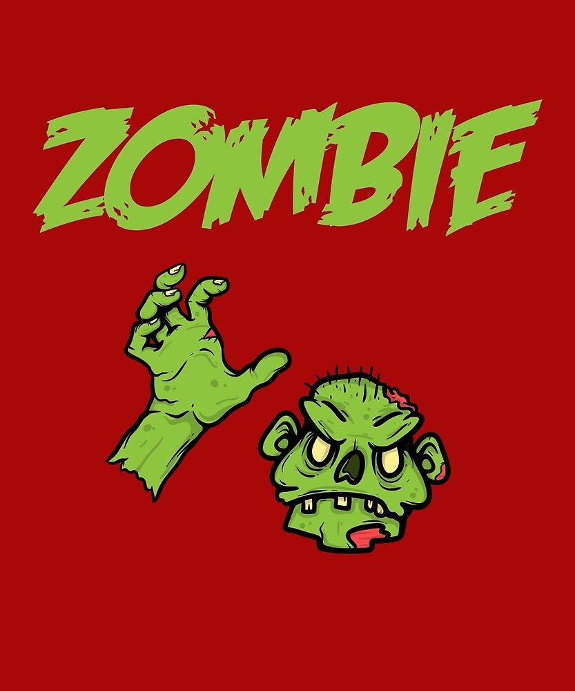 Zombie Funny Lazy Halloween Costume Funny T-Shirt by AlwaysAwesome
