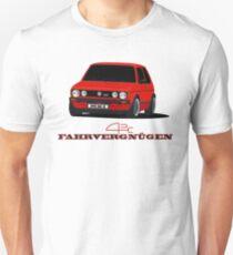 Golf MK1 GTI Fahrvegnügen 2 T-Shirt