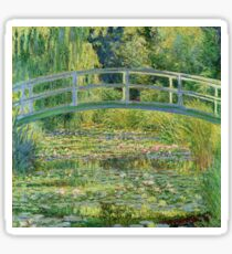 Claude Monet - Water-Lily Pond Sticker
