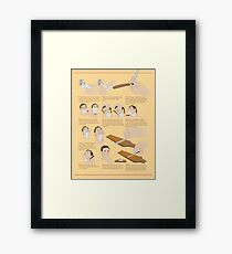 How to Shave Framed Print