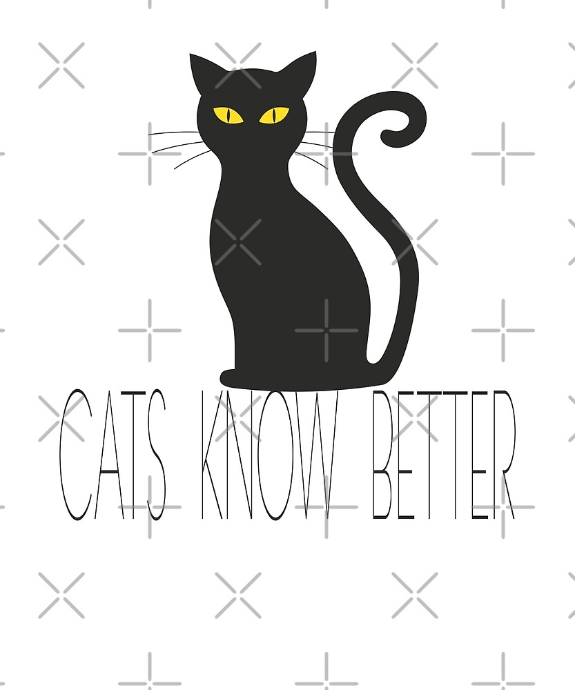 Cats Know Better by Dascalescu
