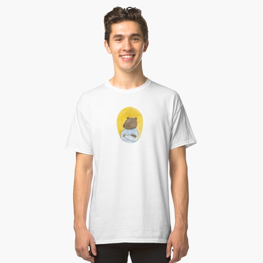 Bear sailor Classic T-Shirt Front