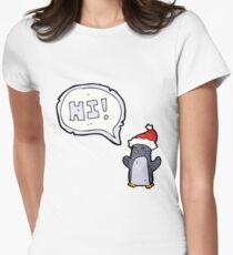 cartoon Women's Fitted T-Shirt