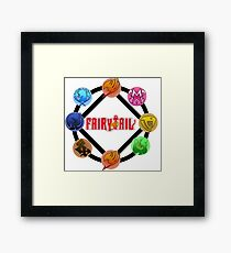 Fairy tail Guilds Grand Magic Games Framed Print